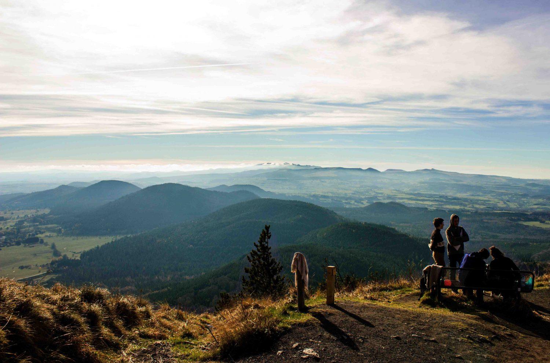 francia: terra di vulcani puy de dome