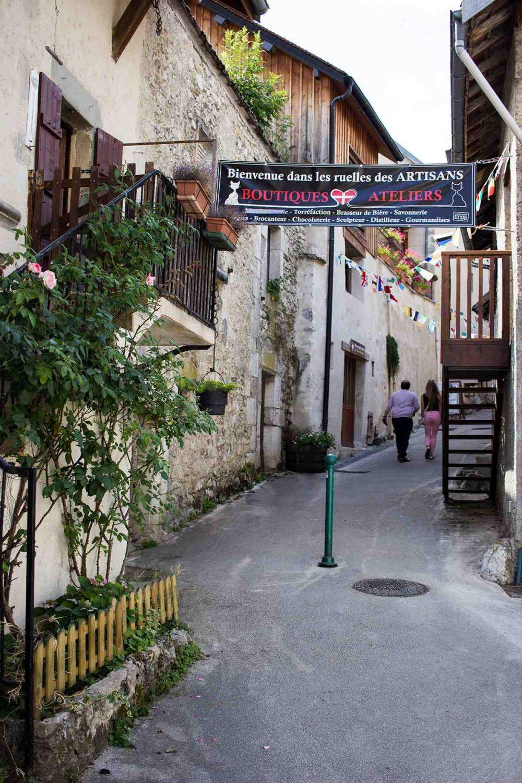 Savoie, abbaye hautecombe, chanaz
