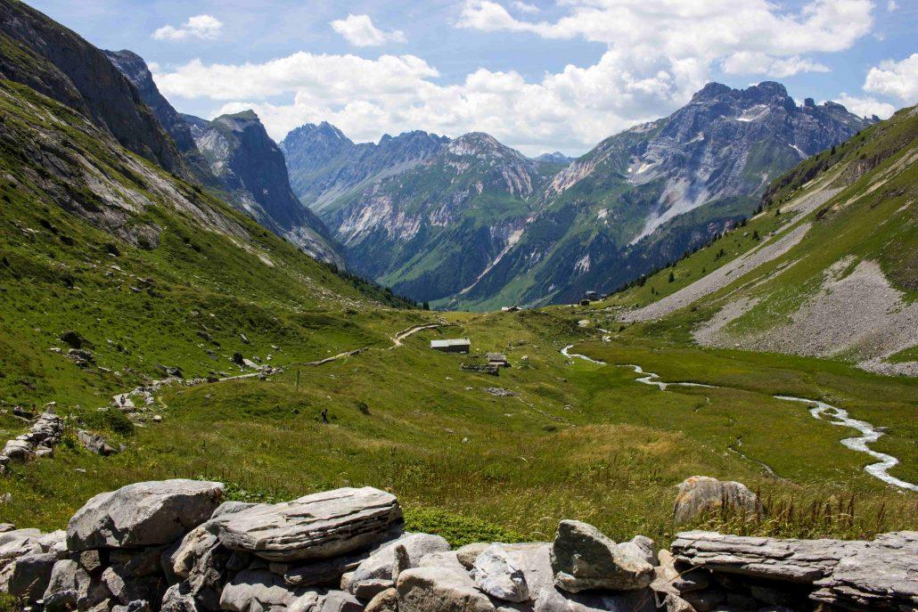 panorama del parco nazionale della vanoise