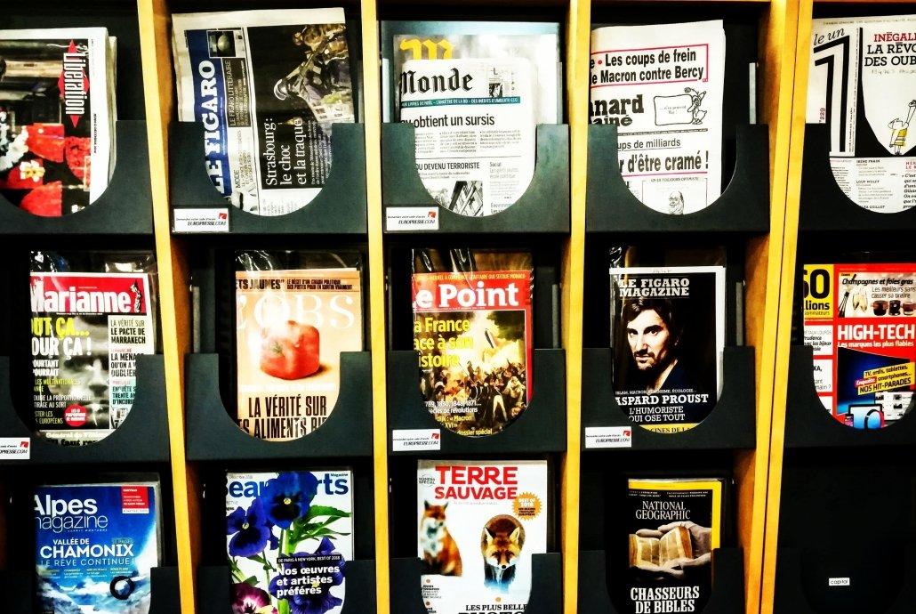 Varie riviste francesi