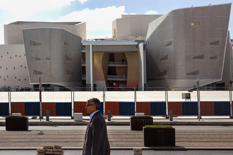 Casablanca: edificio moderno