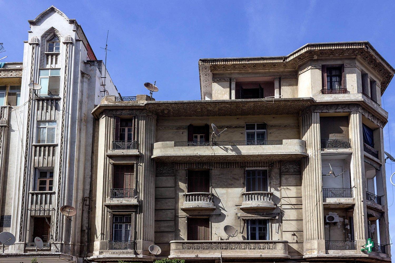 palazzi del centro di Casablanca