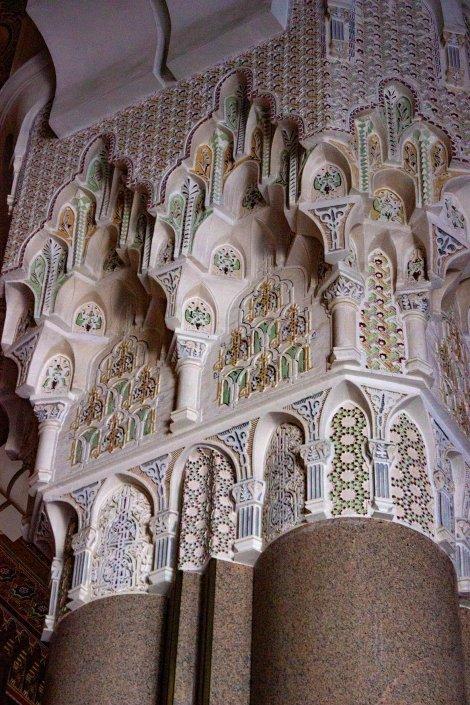 Moschea di Hassan II: dettaglio