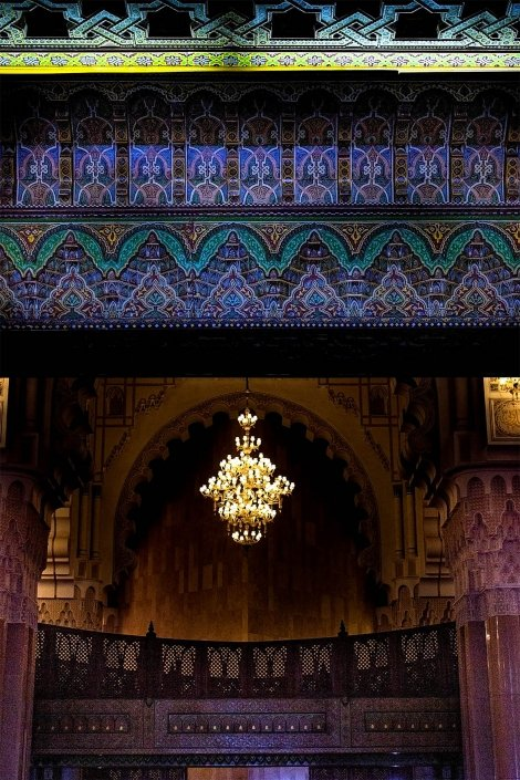 Moschea di Hassan II: interno