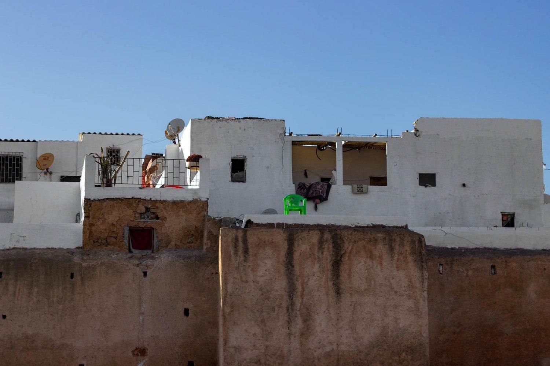 Rabat: le mura della medina