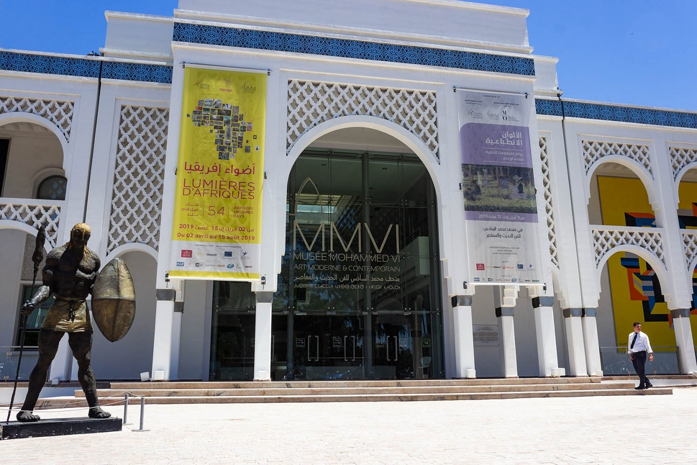 Museo arte contemporanea Rabat