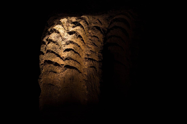 le grotte di Ercole: interno