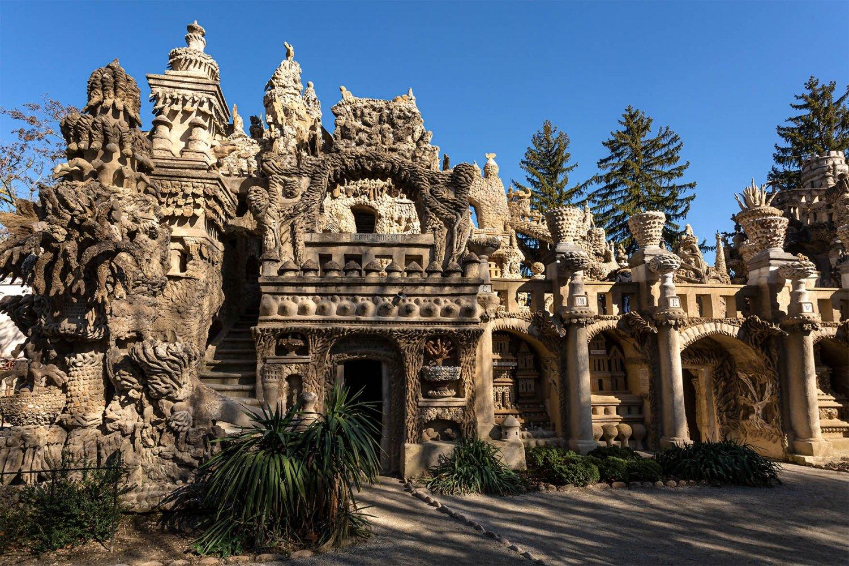 castello del postino, una facciata
